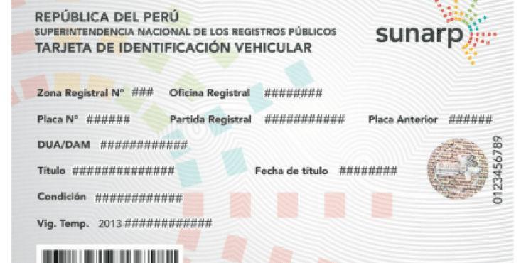 Requisitos para transferencia vehicular sunarp